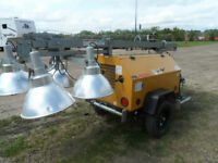 2011 Terex Amida 6kw S/A light tower gen set Please refer to pic