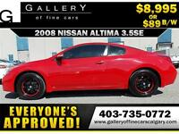 2008 Nissan Altima 3.5SE Coupe $89 bi-weekly APPLY NOW DRIVE NOW