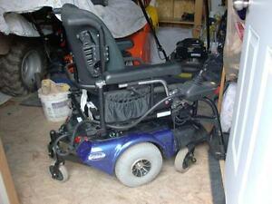 fauteuil roulant éléctrique