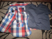 2 piece shirt & t shirt for 9-12 months new unused