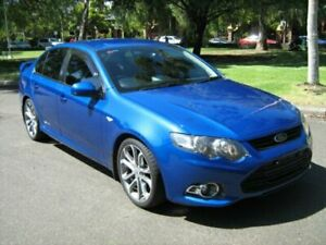 2012 Ford Falcon FG MK2 XR6T Limited Edition Kinetic Blue 6 Speed Manual Sedan North Melbourne Melbourne City Preview