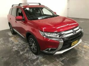 2017 Mitsubishi Outlander ZK MY17 LS (4x4) Red Continuous Variable Wagon Gateshead Lake Macquarie Area Preview