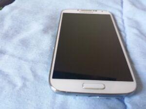 Samsung S4 white like new unlocked