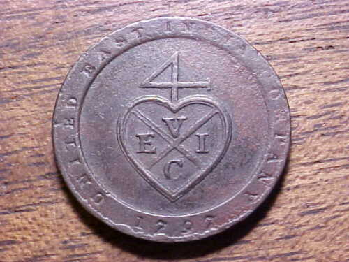 1797 United East India Co. 1/96 Rupee KM#397