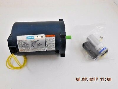 Leeson 12 Hp 115208-230v Electric Motor 1725 Rpm Single Phase