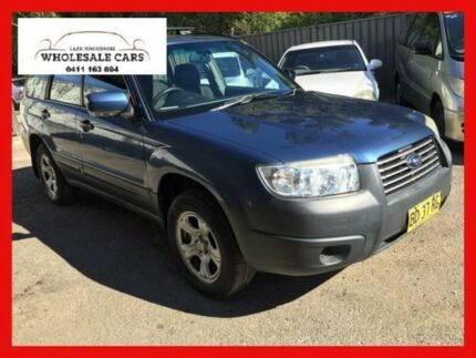 2006 Subaru Forester 79V X Blue 4 Speed Automatic Wagon