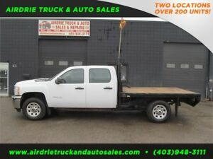 2011 Chevrolet Silverado 3500HD WT Flat Deck 9FT
