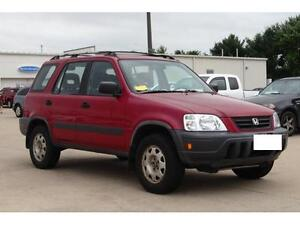 1997 Honda CRV for PARTS!! RED in color!