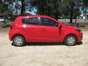 2013 Hyundai i20 PB MY13 Active Red 6 Speed Manual Hatchback Beverley Charles Sturt Area Preview