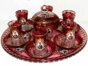 Shah Abbasi Persian tea set