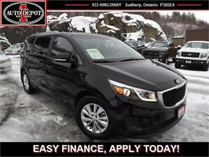2016 Kia Sedona POWER SLIDING DOORS!! BACKUP CAM!! HEATED SEATS!