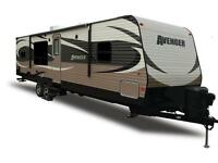 RV trailers for rent