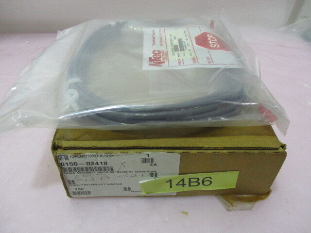 AMAT 0150-02418 Cable Assembly Vacuum/Pressure Sensor WA, 418108
