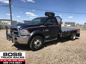 2013 Ram 4500 SLT Flat Deck!! 4x4!! Cummins Diesel!! On Sale!!