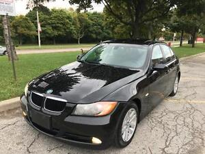 2007 BMW 328I, LEATHER, ROOF, CERTIFIED