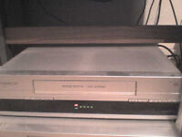 VHS Video Recorder with 2 Remote Controls + Manual - Heathrow