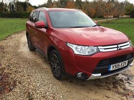 2015 Mitsubishi Outlander 2.2DI-D 4X4 GX3 AUTOMATIC 7 SEATS IMMACULATE CONDITION