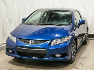 2013 Honda Civic EX-L Navi Coupe w/ Navigation, Leather, Alloy W