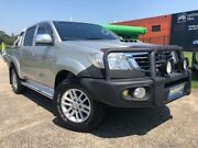 2012 Toyota Hilux KUN26R MY12 SR5 (4x4) Silver 4 Speed Automatic Dual Cab Pick-up Slacks Creek Logan Area Preview