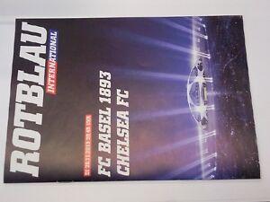 Programm FC BASEL - CHELSEA LONDON 2013/14 Champions League Switzerland England - <span itemprop='availableAtOrFrom'>Poland, Polska</span> - Programm FC BASEL - CHELSEA LONDON 2013/14 Champions League Switzerland England - Poland, Polska