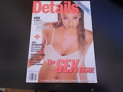 Tyra Banks  Depeche Mode  Mark Eitzel   Details Magazine 1997