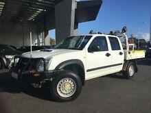 2012 Isuzu D-MAX TF MY12 SX (4x4) Alpine White 5 Speed Manual Crewcab Beckenham Gosnells Area Preview