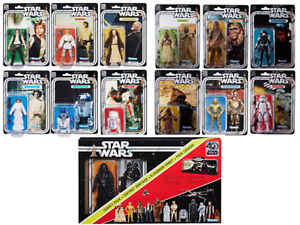 STAR WARS BLACK SERIES 40th ANNIVERSARY COMPLETE COLLECTION MOSC