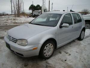 2007 VOLKSWAGEN GOLF - AUTO & NEW ENGINE 143 K