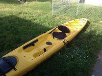 Seat on top kayak 15'