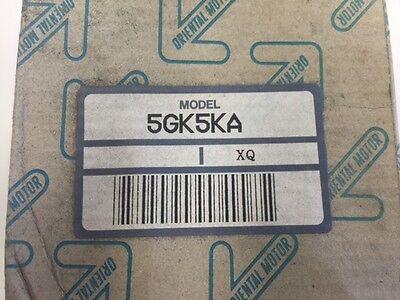 5gk5ka - Oriental Motor Vexta - Pinion Shaft Gearhead - 51 Ratio New