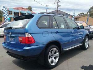 2004 BMW X5 E53 3.0I Blue 5 Speed Auto Steptronic Wagon Greenacre Bankstown Area Preview