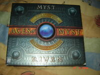 AGES OF MYST RIVEN ANNIVERSARY EDITION COMPLET RARE