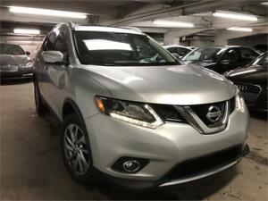 2014 Nissan Rogue SL 4WD CUIR NAVI TOIT COLL LANE WARNING