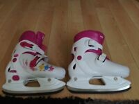 Skates Adjustable sizes 12J -13J -1-2