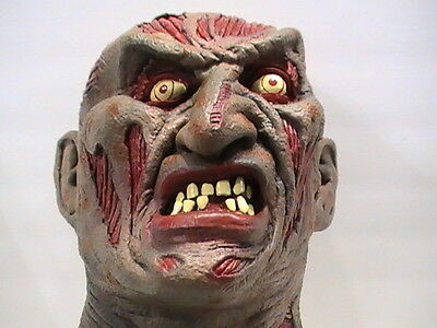 Freddy Krueger Mask 1995 Nightmare On Elm Street Nice And Scary Great Condition