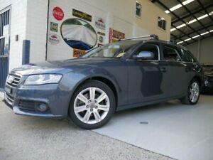 2011 Audi A4 B8 8K MY11 Grey Constant Variable Wagon Rydalmere Parramatta Area Preview