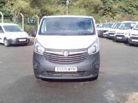 Vauxhall Vivaro LWB 2.0 CDTI 115ps 2.9t Van DIESEL MANUAL WHITE (2015)