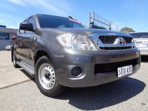 2010 Toyota Hilux GGN15R MY11 Upgrade SR Grey 5 Speed Automatic Pooraka Salisbury Area Preview