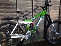 Kona Stinky Deluxe Freeride/Downhill mountain bike