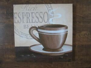 Cup of Espresso Canvas Print