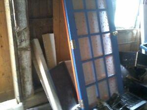 portes a carreaux vitres