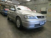 2001 Holden Astra TS Equipe Silver 5 Speed Manual Hatchback Mordialloc Kingston Area Preview