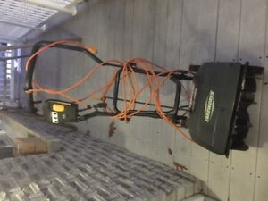 Yardworks Electric Snow Thrower for sale-price reduced again
