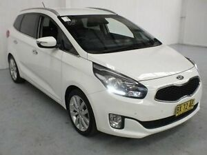 2013 Kia Rondo UN MY13 SLI White Sports Automatic Wagon Gateshead Lake Macquarie Area Preview