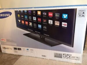 """*** Samsung 55"""" Smart TV- NEW in the box ***"""