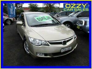 2007 Honda Civic 40 Hybrid Gold Continuous Variable Sedan Minto Campbelltown Area Preview