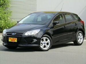 2014 Ford Focus LW MKII MY14 Trend PwrShift Black 6 Speed Sports Automatic Dual Clutch Hatchback Melrose Park Mitcham Area Preview