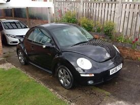 VW Beetle 1.9 TDI 2006 Facelift model with FSH, Air Con, Gun Metal Alloys, Tinted Windows