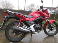 Honda CBF 125 LEARNER LEGAL MOTORCYCLE