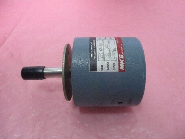 MKS 222AHS-A-A-100 Baratron Pressure Transducer, 100 Torr, 450246